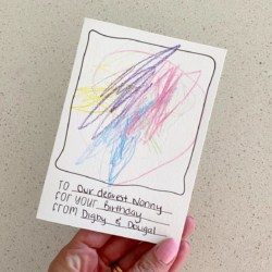 For The Kiddies | Letterpress Greeting Card