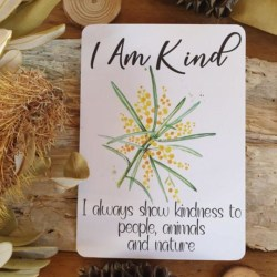 Positive Affirmation Cards for Kids Australiana