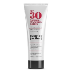 100% Natural Sunscreen Lotion