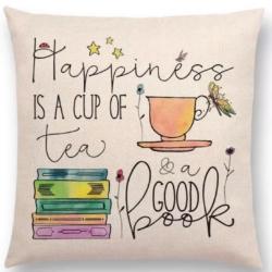 Cushion. Happiness tea