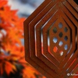 Weathering Steel Collection Wind Spinner – MORROCCAN