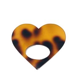 Healing Heart Tortoiseshell Glasses Hanger Brooch