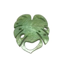 Monstera Leaf Glasses Hanger Brooch