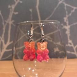 Gummy Bears – orange & hot pink