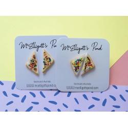Fairybread stud earrings MEDIUM