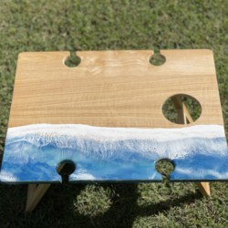Picnic Table Ocean Theme