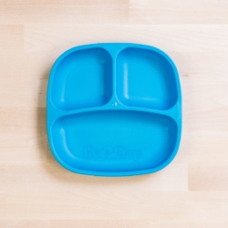 Re-Play Divided Plate – Blue