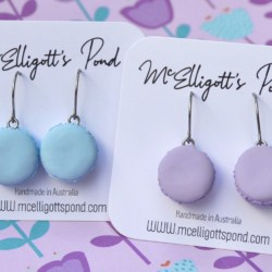 Macaroon Dangle Earrings