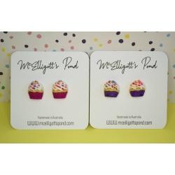 Cupcake Studs