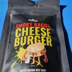Smoky Bacon Cheese Burger Beef Jerky