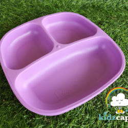Re-Play Divided Plate – Purple