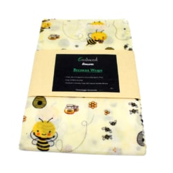 Beeswax wraps 3 pack- white
