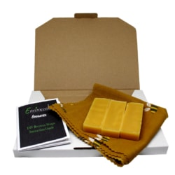 DIY Beeswax Wraps Kits- Mustard