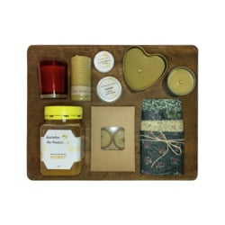 Natural Beeswax + Honey Mega Gift Pack