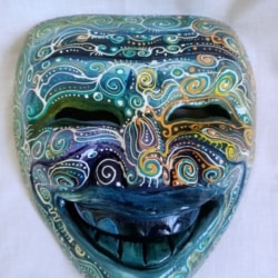 Happy Mask Wall Hanging (HM0004)