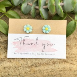 Daisy Studs (Stainless Steel, Lead and Nickel Free)