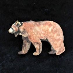 Big Brown Bear Brooches / Shawl Pins / Embellishments