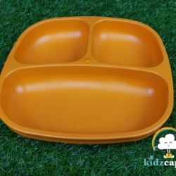 Re-Play Divided Plate – Orange