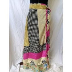Large Sari Wrap Skirt (SKIRT009)