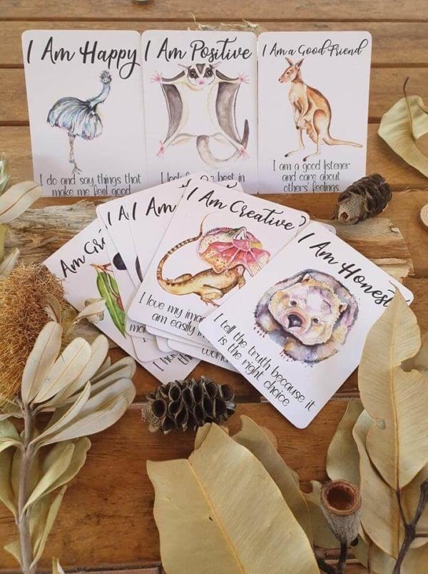 affirmation cards for kids, kids affirmations
