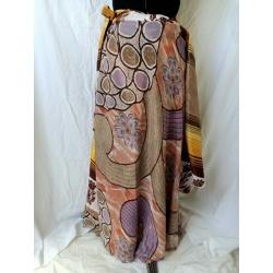 Medium Sari Wrap Skirt (SKIRT004)