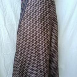 Small Sari Wrap Skirt (SKIRT035)