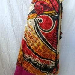 Medium Sari Wrap Skirt (SKIRT039)