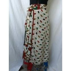 Medium Sari Wrap Skirt (SKIRT044)