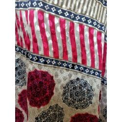 Small Sari Wrap Skirt (SKIRT051)