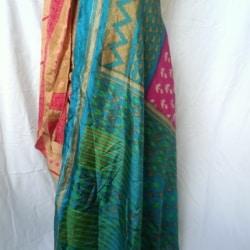 Medium Sari Wrap Skirt (SKIRT058)