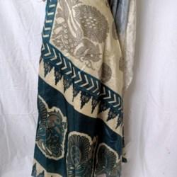 Medium Sari Wrap Skirt (SKIRT069)