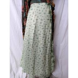 Medium Sari Wrap Skirt (SKIRT088)