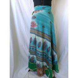 Medium Sari Wrap Skirt (SKIRT093)