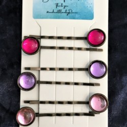 Classic Bright Colour Hair Pins / Bobby Pins- Bronze – suits most hair types (Sold as the panel pictured)