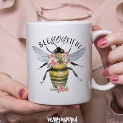 BeeYOUtiful you Ceramic 11oz Mug