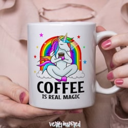 Coffee is Real Magic Ceramic 11oz Mug