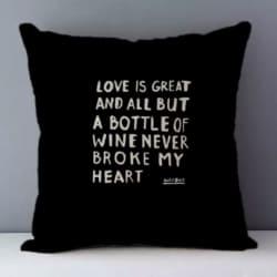 Cushion. Love is great
