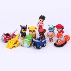 Paw Patrol cake topper/figurine set 12pc