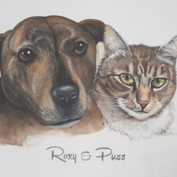 Pet Portrait (Double)