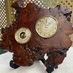 Red Malley Handmade Clock (free postage)