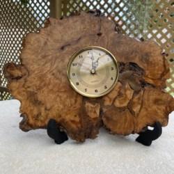 White Malley Handmade Clock (free postage)