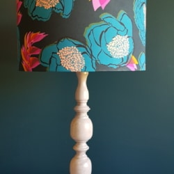 Lampshade handcrafted in Bermagui