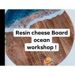 Resin ocean board workshop May