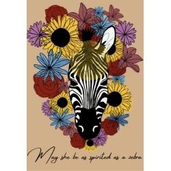 Gloria the Zebra Print