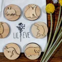 Australian Animals Sensory Dough Stamps