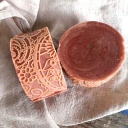 Hemp Shampoo & Body Soap Bar Patchouli & Rose Geranium