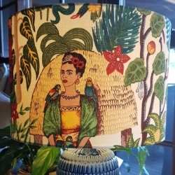 Frida lampshade hand crafted in Bermagui