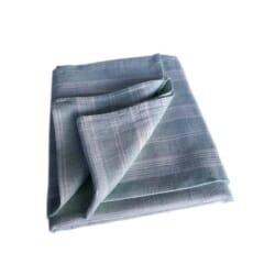 Linen Beach & Picnic Towel Multistripe – Mint