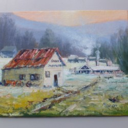 """""""Mill Store"""" Painting"""