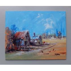 """Settlement"" Painting"